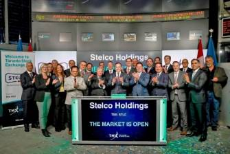 Stelco Opens TSX
