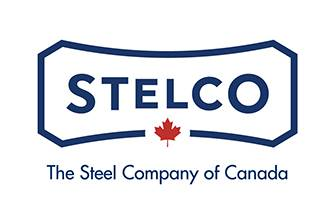 Stelco Company Logo with Tag Line - The Steel Company of Canada
